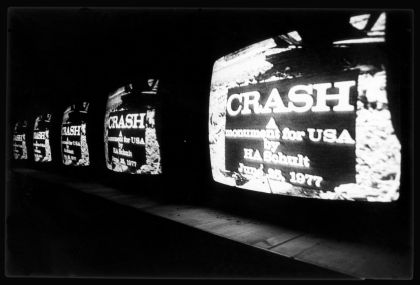 Crash. A monument for USA by HA Schult