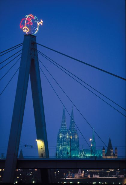 The Globe, 1996 Severin Bridge, Cologne