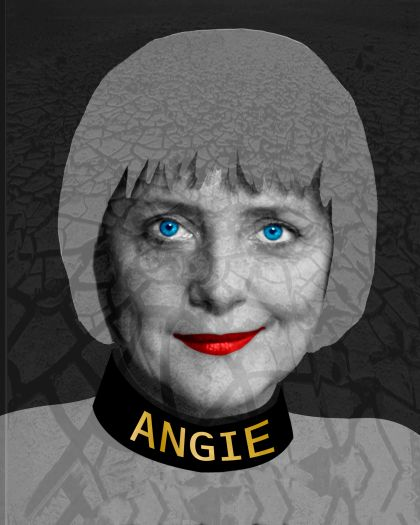 Angie, 2005      47,24 x 35,43 inchesCollection Alessandro International, Langenfeld, Germany